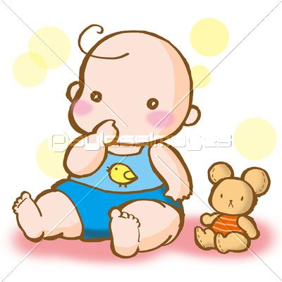 イラスト 赤ちゃんの写真イラスト素材 Xf3045054600 ペイレス